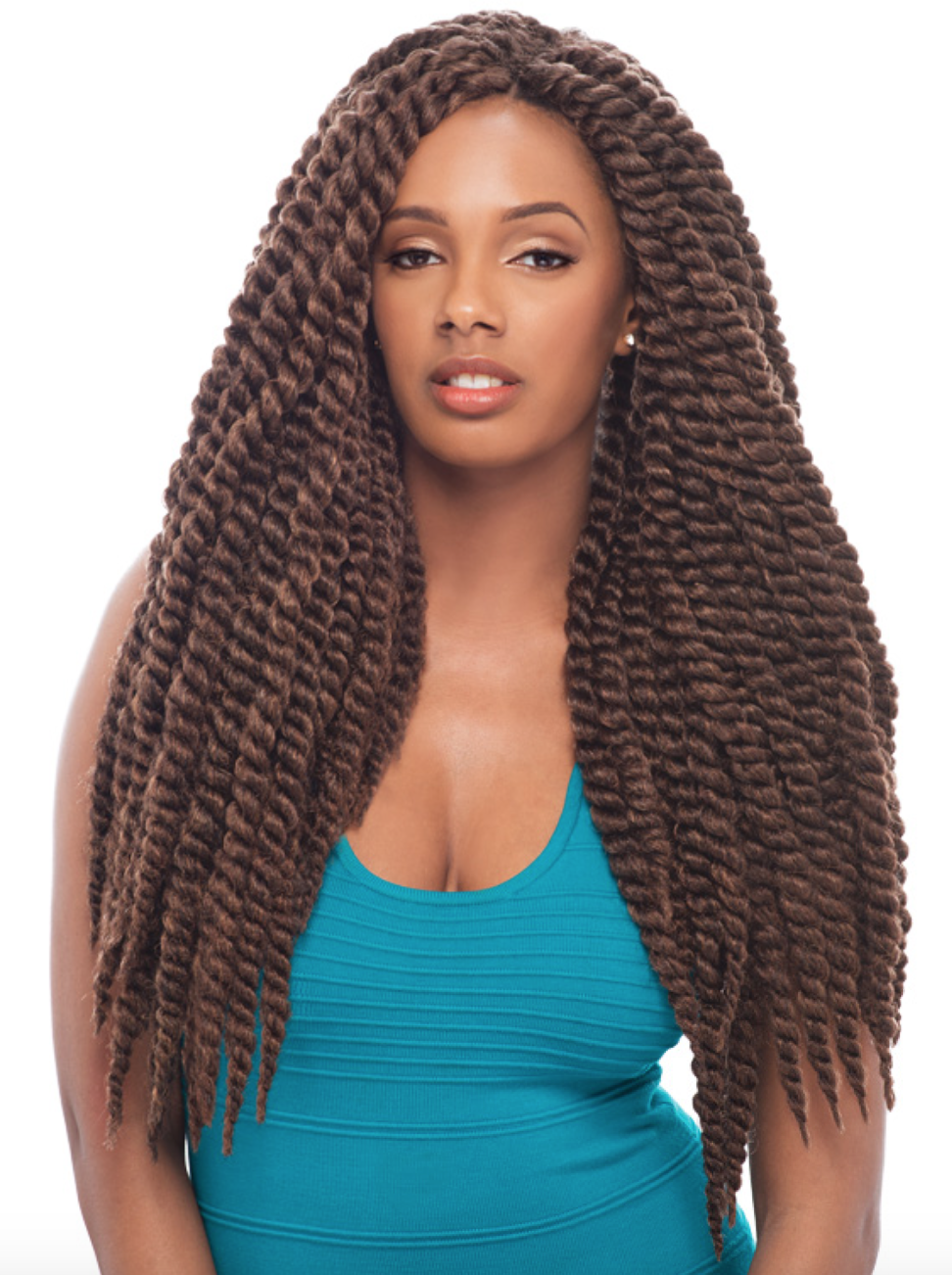 Crochet Braid Type Bold Twisted Thickness 1 Inches Strand Number