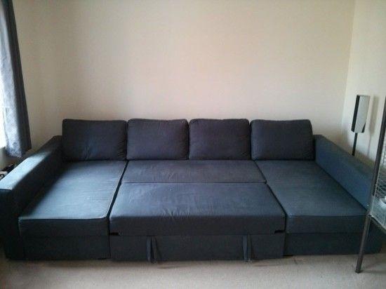 Sofa Pillows Manstad Manstad ud Massive U Shaped Sofabed