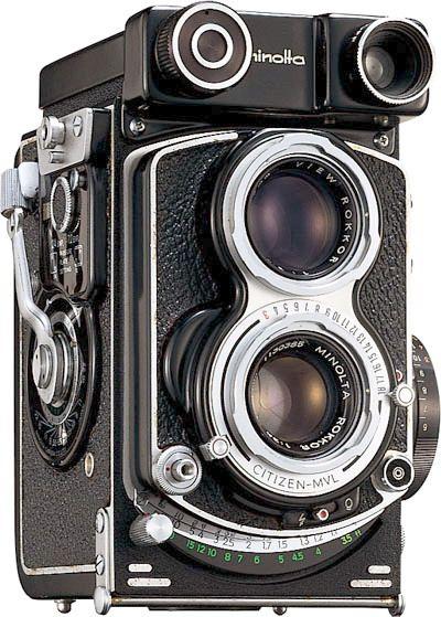 L Histoire De L Appareil Photo : histoire, appareil, photo, Histoire, Minolta, Appareil, Photo, Argentique,, Appareils, Vintage,, Ancien
