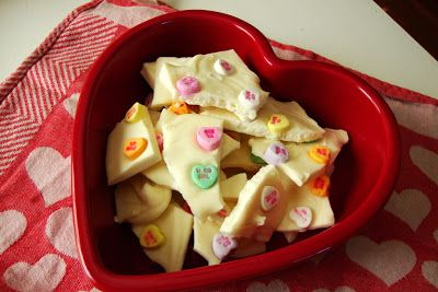 valentines recipes | Valentine Bark | Valentine dessert | Valentine candy | Sunny Simple Life