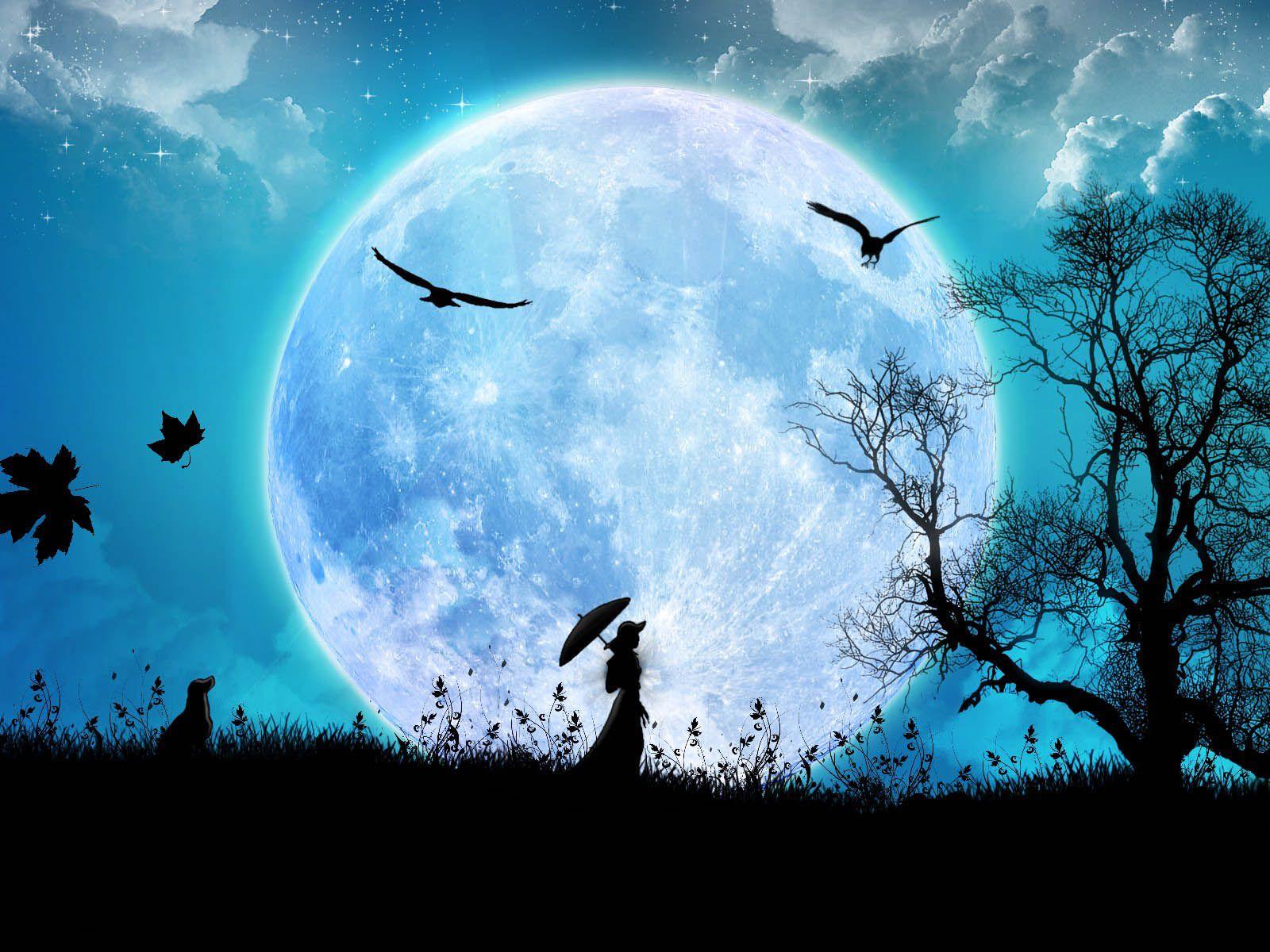 Creative+Arts+Wallpapers+09.jpg (1600×1200) Luna llena