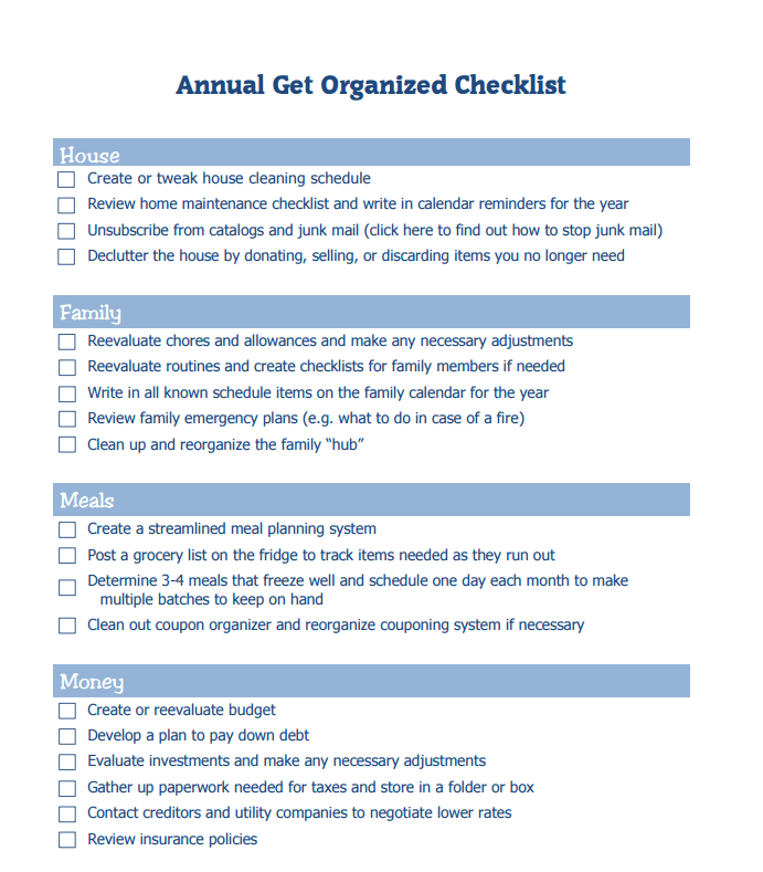 Why You Should Perform An Annual Financial Check Up Getting