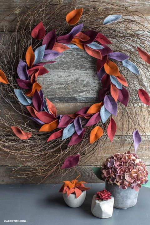 22 Fall Wreaths That'll Add Serious Autumn Flair to Your Door