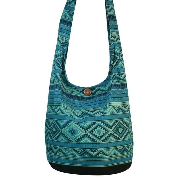 63ed1ddb81c5 Thai Elephant Hippie Bag Shoulder Bag Hippie Bag Crossbody Bag Messenger Bag  (Green)    Continue to the product at the image link.