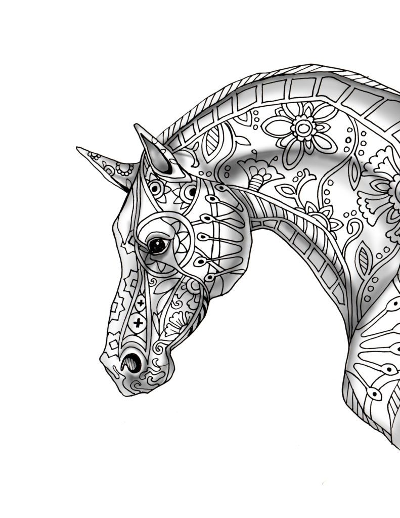 Coloring Rocks Horse Coloring Pages Horse Coloring Books Animal Coloring Pages