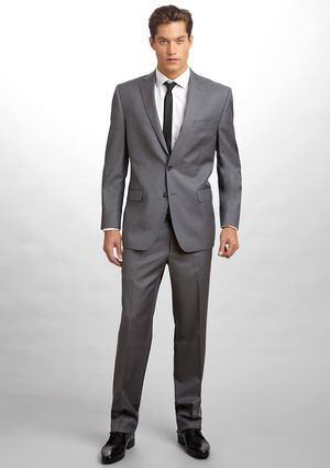 CALVIN KLEIN Slim Fit Wool Suit, $219.99 | Dream wedding | Pinterest ...
