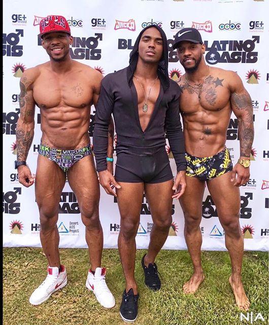 Blatino gay men