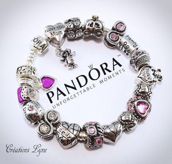 Au choix Authentique bracelet PANDORA argent sterling 925 | Etsy ...