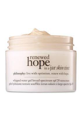 Philosophy Renewed Hope In A Jar Skin Tint Spf 20 Tinted Spf Korean Skin Care Secrets Anti Aging Oils
