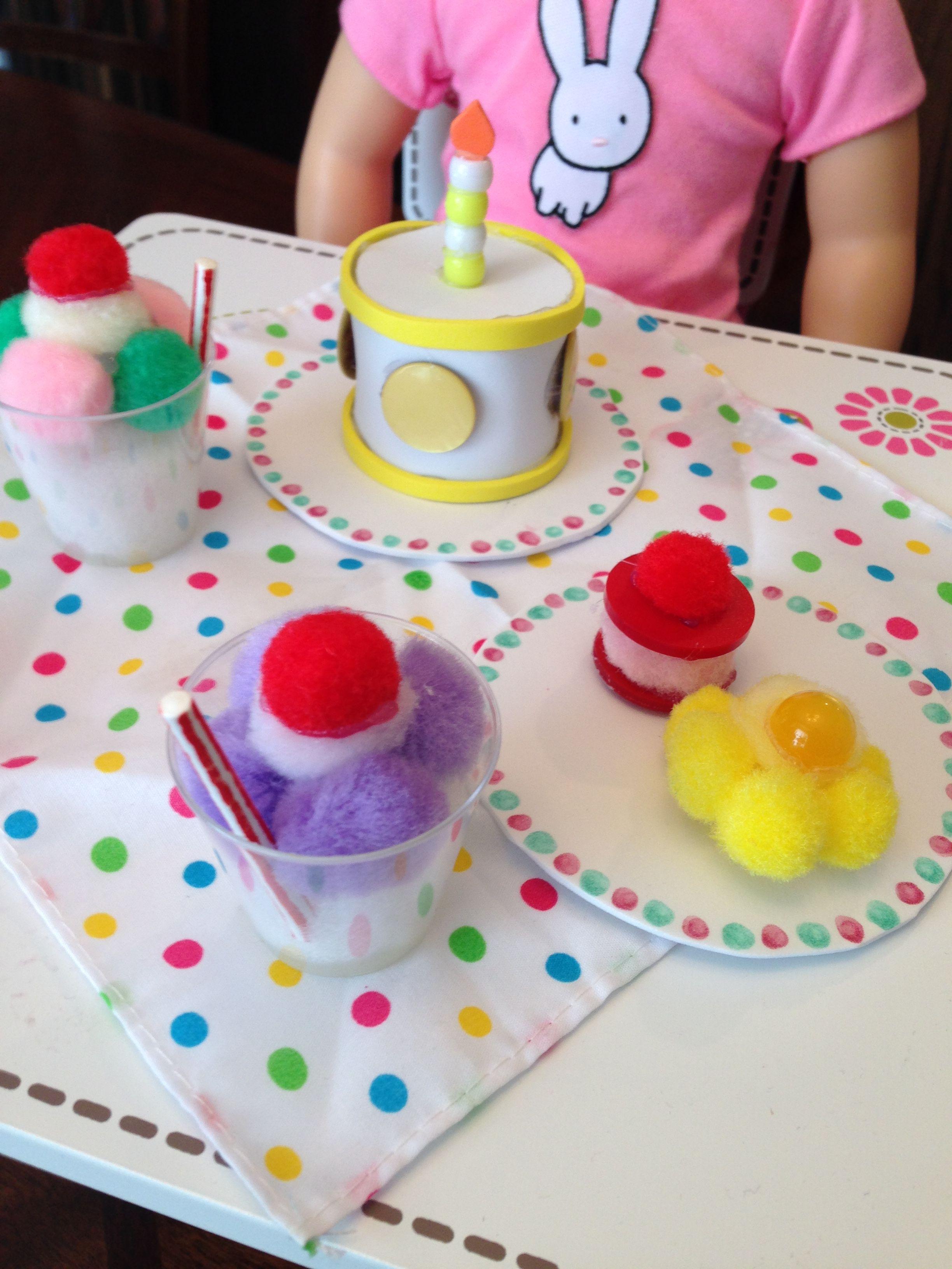 american girl doll food crafts
