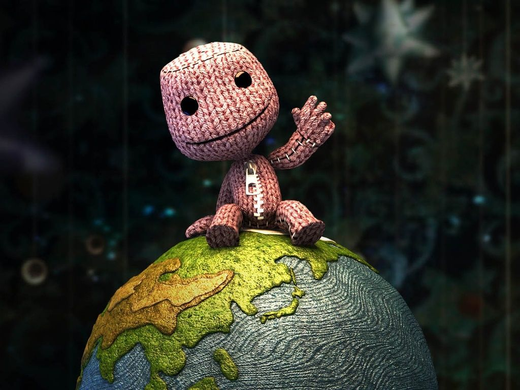 in love with sackboy from little big planet <3 best game ever ...