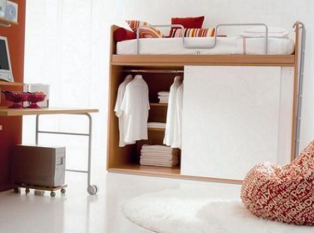 Ahorra espacio ) Bedroom Pinterest Alcove, Bedrooms and