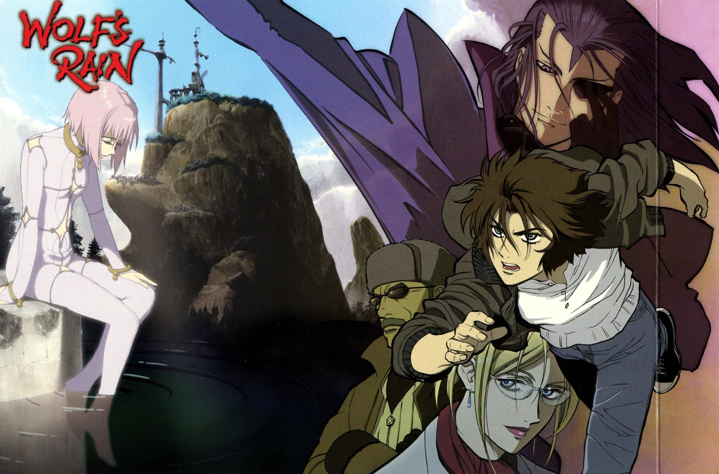 Wolf's Rain Anime japonais, Wolf, Manga