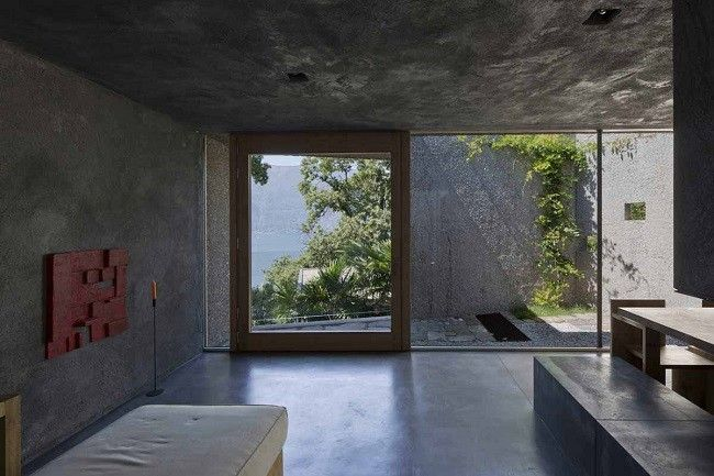 Concrete Bunker House In Switzerland With Images Bunker Home