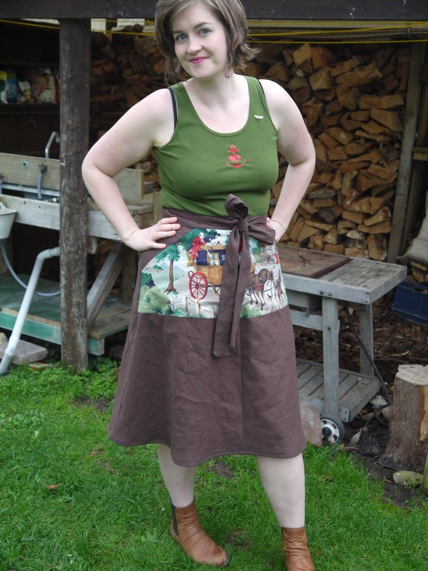 The Woodcutter skirt