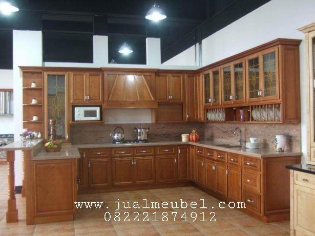 Kitchen set jati jepara model mini bar cuisines - Mini bar cuisine ...
