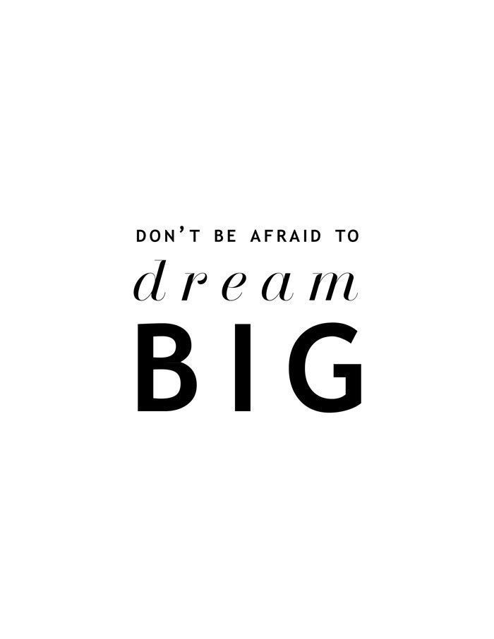 Short Positive Quotes Brilliant Dream Big  Pinterest  Shorts Inspirational And Motivation