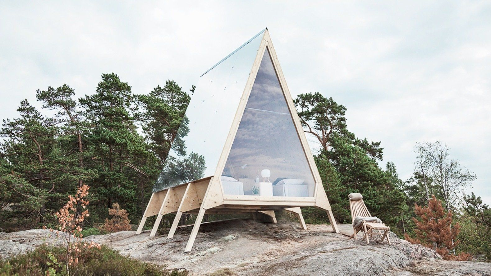 An A-Frame Cabin Celebrates the Zero-Emission Lifestyle in Finland ...