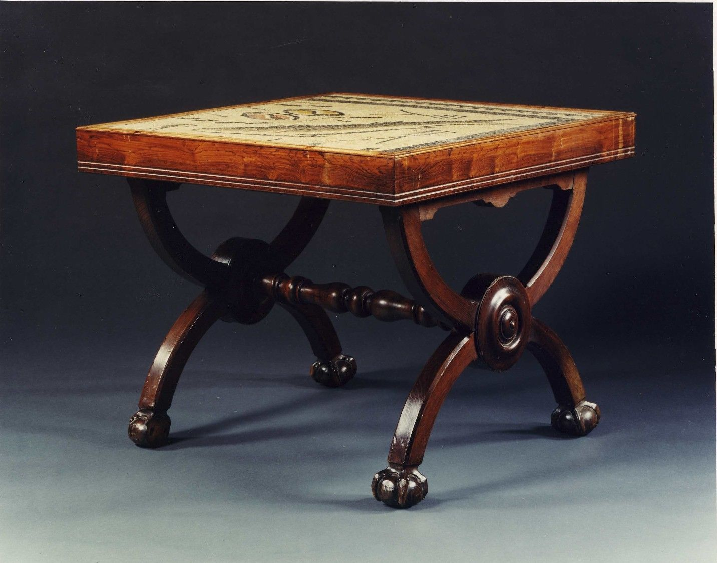 Reproduction of an Ancient Roman small table A CHESTNUT X ...