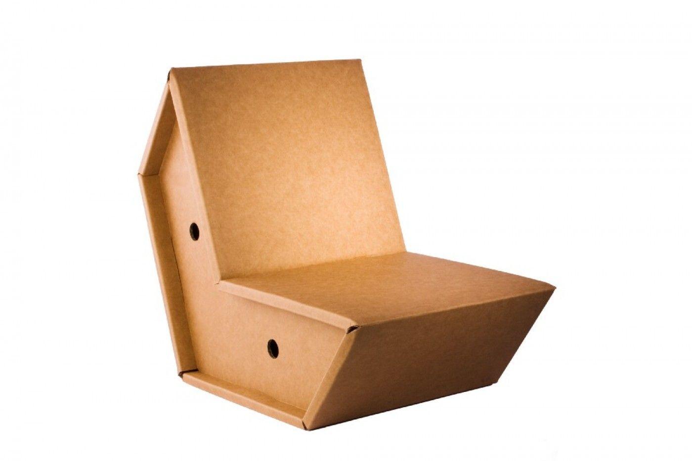 Chair By Peter Raacke Chaise En Carton Mobilier De Salon Carton