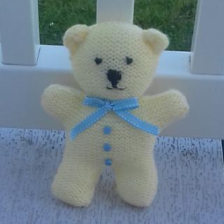 Little Lemon Teddy Bear #crochetteddybears