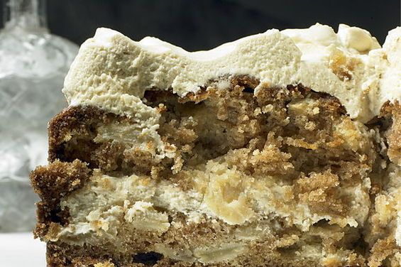 Yotam Ottolenghi's Apple and Olive Oil Cake with Maple Icing #oliveoils