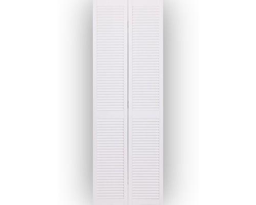 Lamellentür lamellentür kiefer offen weiß 242 2x39 4 cm wohnung neu