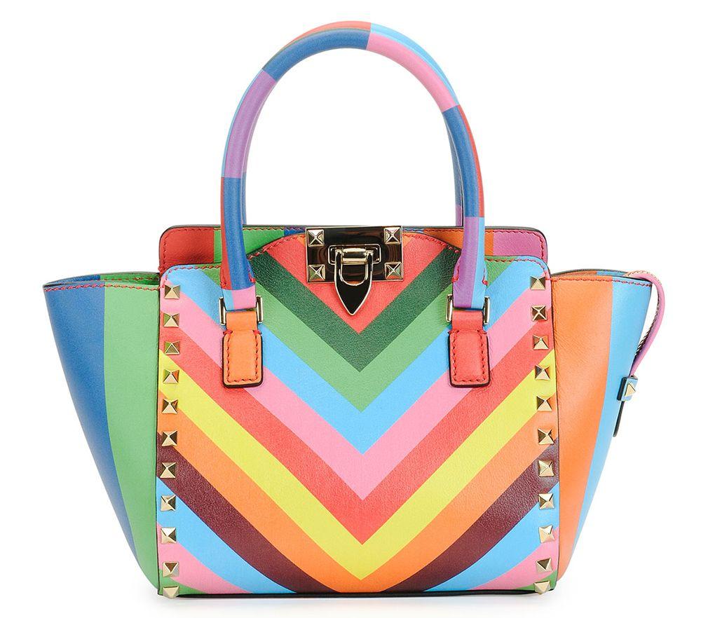 Valentino S Resort 2017 Rainbow Bags