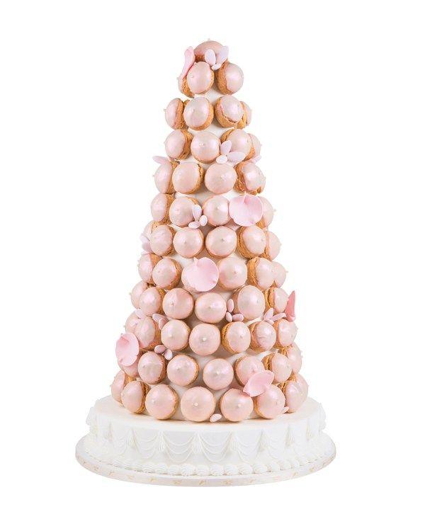 Alternative wedding cake - Mikimoto Piece Montee de Choux, from a selection, Ladurée