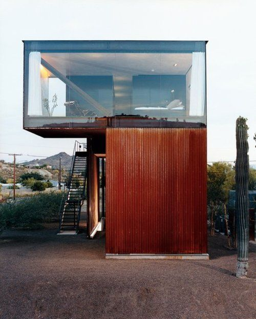 Shipping Containers turned into homes