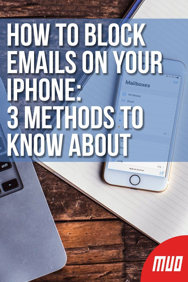 How to block emails on your iphone 3 methods to know