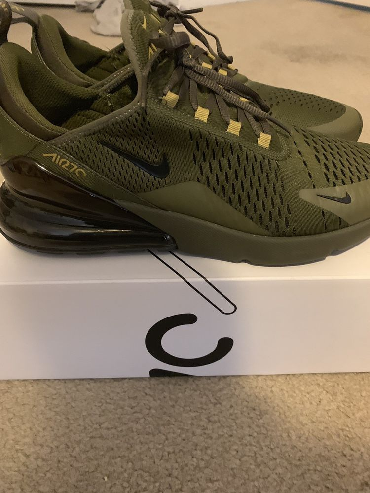 Nike Air Max 270 Olive Green Mens Size 12. worn only once ...