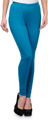 1a3a818ad Ffu Women s Leggings - Buy Blue Ffu Women s Leggings Online at Best Prices  in India