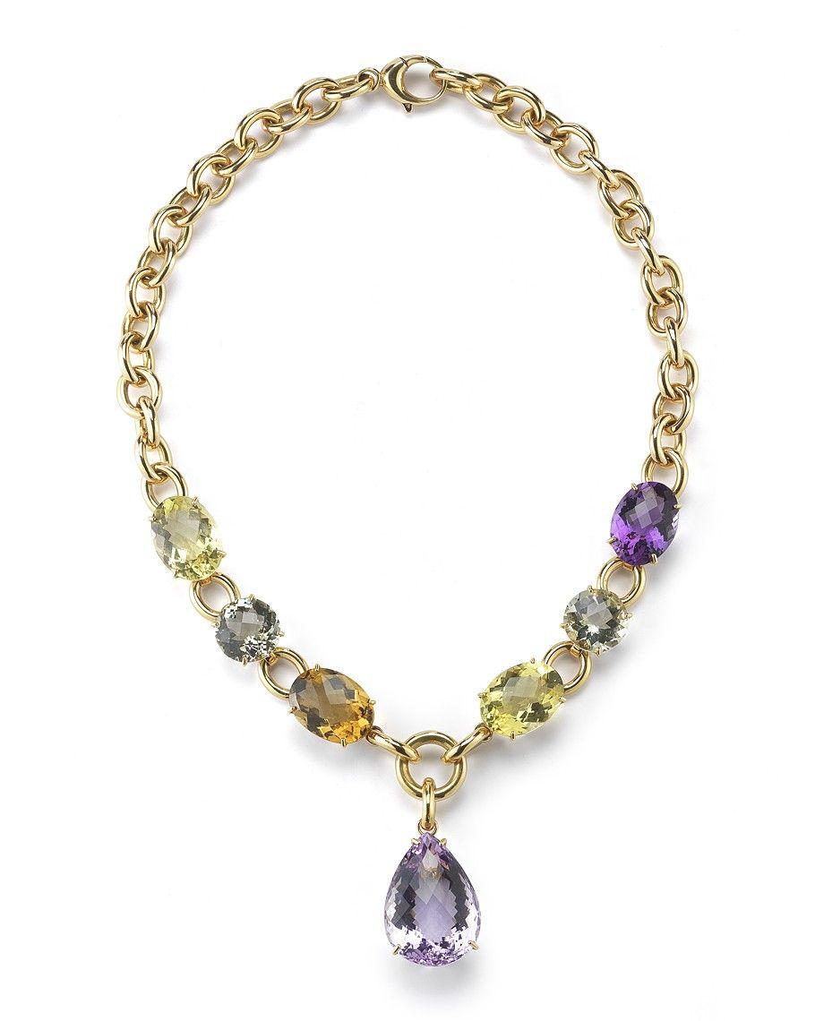 Ipanema Semiprecious Stones Necklace - Roberto Coin