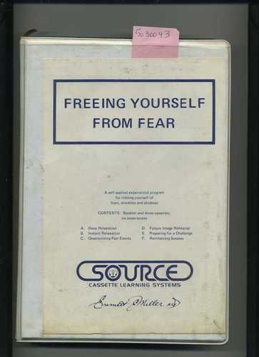 Emmett E Miller MD Freeing Yourself from Fear Audio Cassette Tapes Self Help 1558411380 | eBay