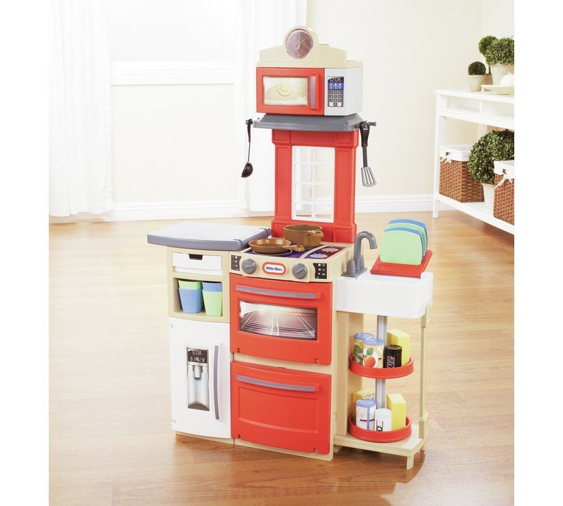 Buy Little Tikes Cook N Store Kitchen Red Cooking