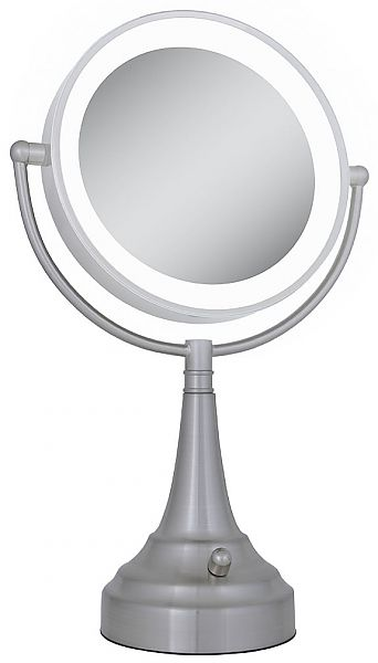 Zadro Next Generation Round 10x 1x Led Lighted Vanity Makeup