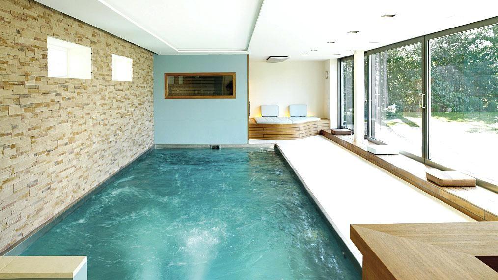pool gegenstromanlage schwimmbecken mit gegenstromanlage