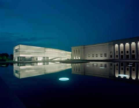 The beautiful Nelson-Atkins Museum in Kansas City.  We are so proud of this stunning architecture!