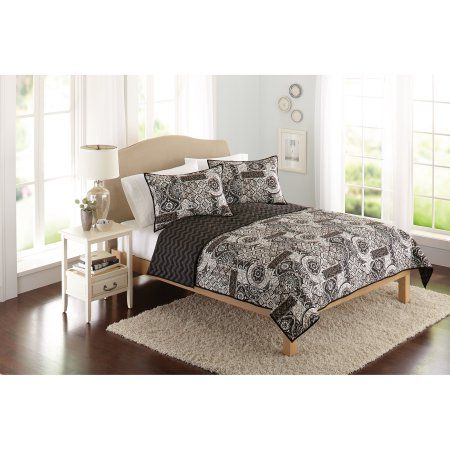 better homes and gardens global patchwork bedding quilt black rh in pinterest com