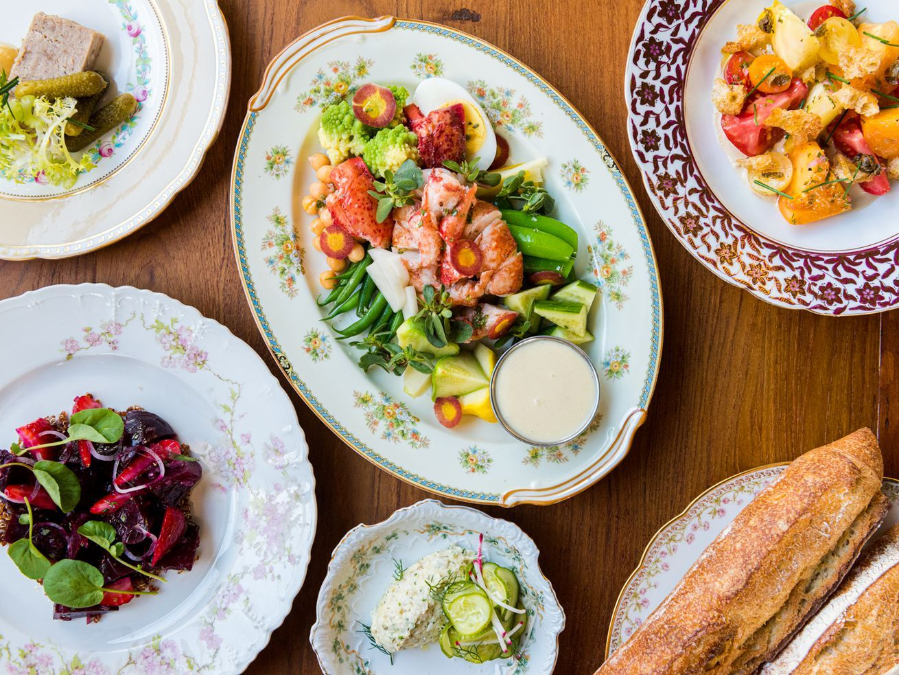 Step Inside The Warm Charm Of Routier The B Patisserie Team S French Restaurant In 2020 French Restaurants Seasonal Salad Cooked Vegetables