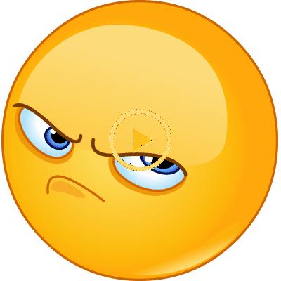 Auf Der Grumpy Side Funny Gif Funny Memes Smiley