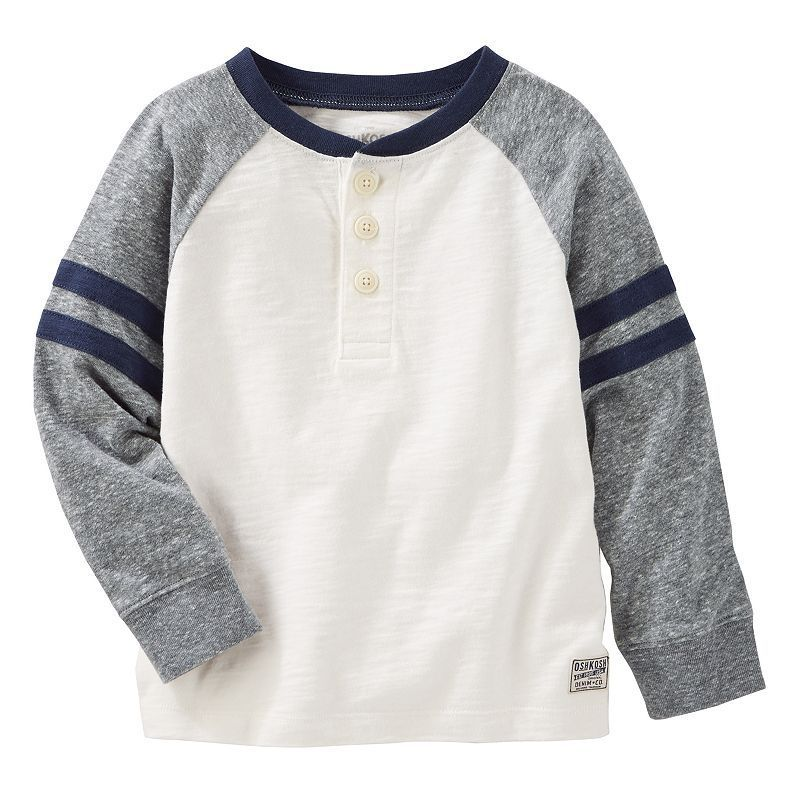 09b532cf8 Toddler Boy OshKosh B'gosh® Striped & Slubbed Henley | Products ...