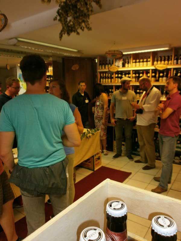 Bierinseln Expertenrunde mit Markus Hoppe in der Getränke Oase | 1 ...