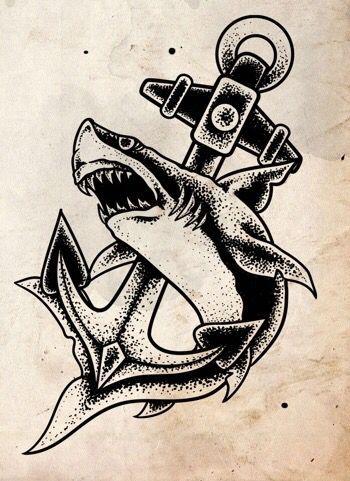Pingl par michael suarez sur tattoo ideas pinterest - Requin enclume ...