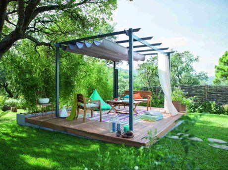 Comment Monter Une Pergola comment-creer-une-terrasse-bois-en-pente (460×344) | jardin