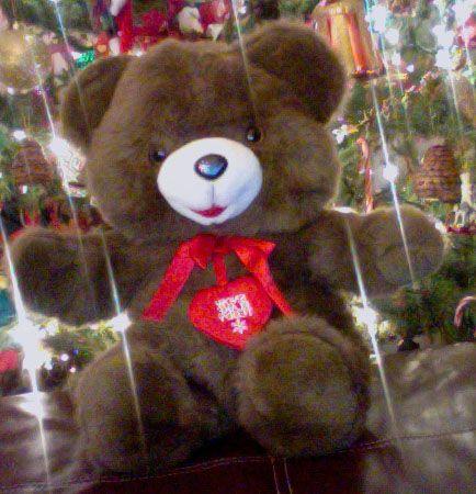 Vintage Walmart Snowflake Teddy Teddy Plush Toys Teddy Bear
