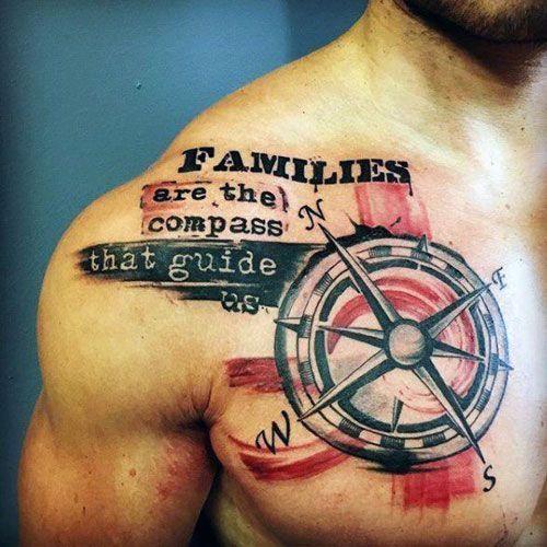 Photo of Signification famille tatouages pour hommes sur la poitrine – Meilleures citations de tatouage pour hommes – …