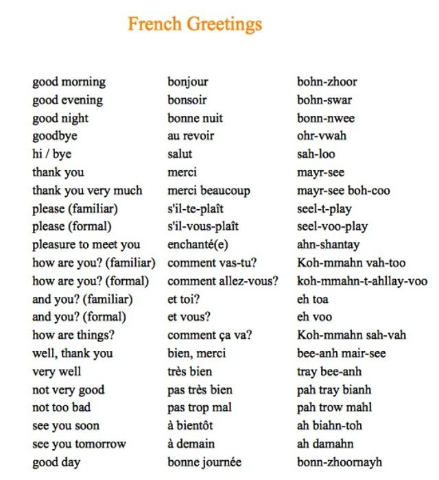 basic french french language french greetings learn to speak french how to speak french. Black Bedroom Furniture Sets. Home Design Ideas