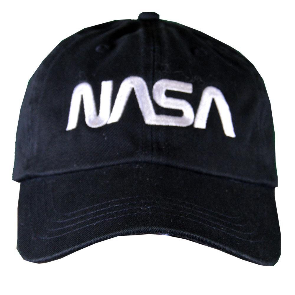 Black NASA Worm Cap Nasa, Cap shopping, Casual cap